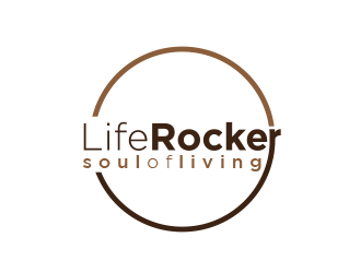 LifeRocker the soul of living logo design