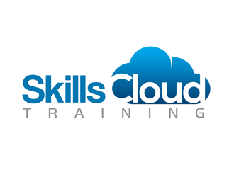 SkillsCloud Training logo design