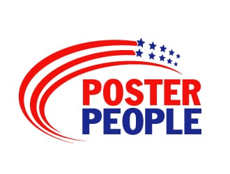 Poster People logo design