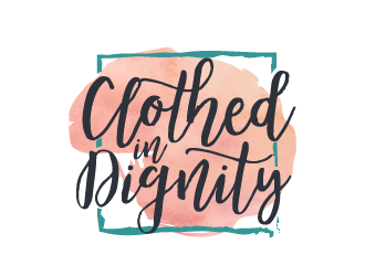 Clothed in Dignity logo design