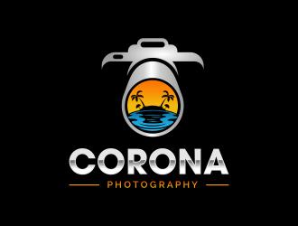 CoronaPhotography logo design