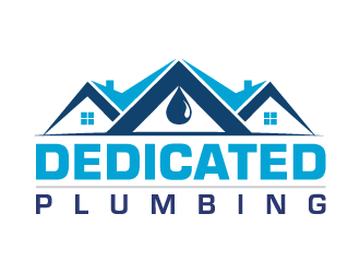 Dedicated Plumbing logo design