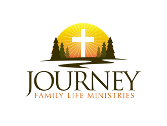 Journey, A new christian walk   or  The Journey Church, A new christian walk logo design