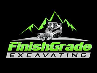 Finish Grade Excavating logo design