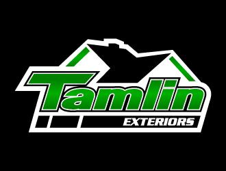 Tamlin Exteriors logo design