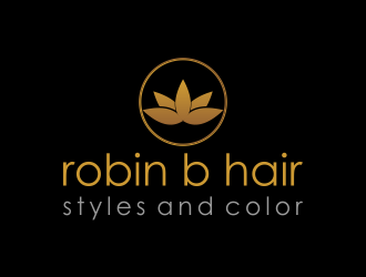 Robin B - Hairstyles and Color logo design