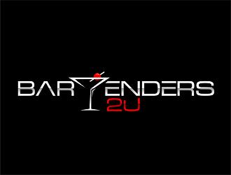 Bartenders 2 U logo design