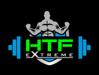 Hometown Fitness  or you can use HTF eXtreme logo design