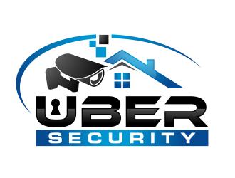 Uber Security logo design