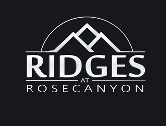 Ridges at Rose Canyon logo design