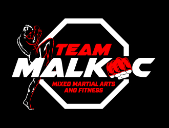 Team Malkoc logo design