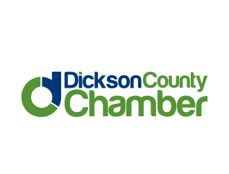 Dickson County Chamber logo design