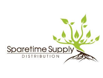 Sparetime Supply Distribution logo design