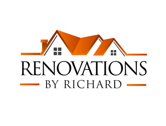 160 renovations by richard logo design