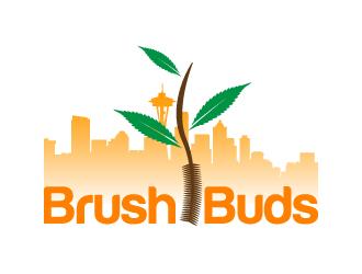 Brush Buds logo design