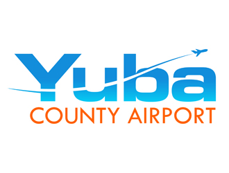 Yuba County Airport logo design