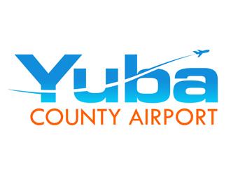 Yuba County Airport logo design