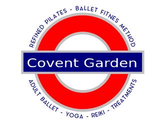 Covent Garden  - Refined Pilates - Ballet Fitness Method - Adult Ballet - Yoga - Reiki - Treatments logo design