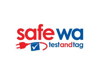 Safe WA Test And Tag logo design