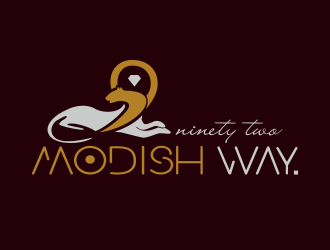 92 Modish Way logo design