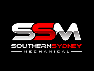 Southern Sydney Mechanical logo design