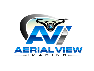 Aerial View Imaging logo design