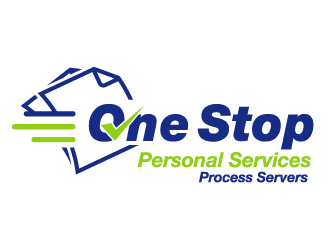 One Stop Personal Services - Process Servers logo design