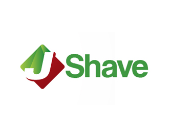 J Shave logo design