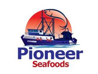 Pioneer Seafoods logo design