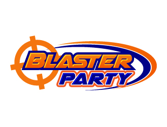 Blaster Party logo design
