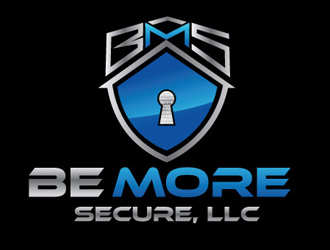Be More Secure, LLC logo design
