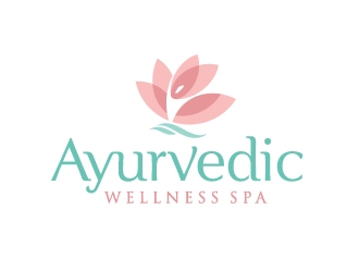 Ayurvedic Wellness Spa logo design