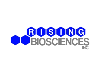 RISING BIOSCIENCES INC logo design