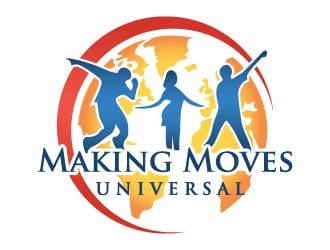 Making Moves Universal logo design