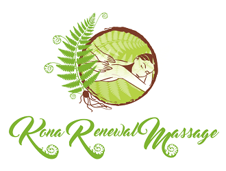 Kona Renewal Massage logo design
