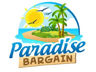 Paradise Bargain logo design
