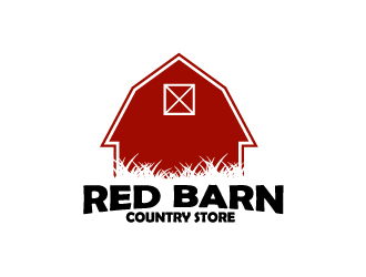 Red Barn Country Store logo design