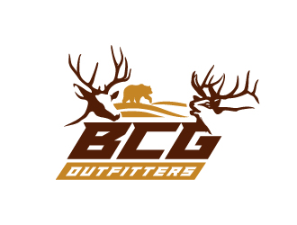 BCG Outfitters logo design