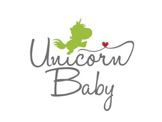 Unicorn Baby logo design