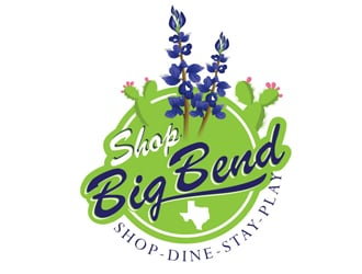 Shop Big Bend logo design