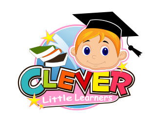 Clever Little Learners logo design