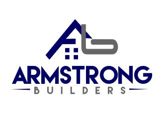 Armstrong Builders logo design