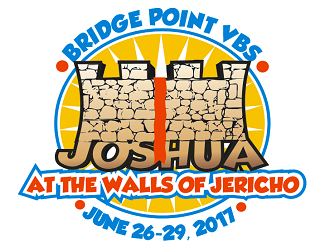 JOSHUA At the Walls of Jericho logo design