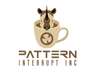 Pattern Interrupt Inc logo design