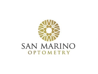 San Marino Optometry logo design