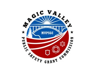 Magic Valley Public Safety Grant Commission logo design