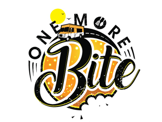 One More Bite logo design