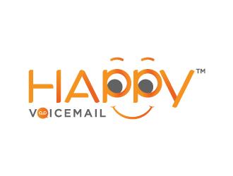 Happy Voicemail logo design