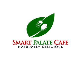 Smart Palate Cafe(teria), Naturally Delicious logo design