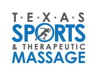 Texas Sports & Therapeutic Massage logo design